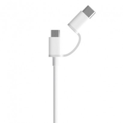 Cablu micro USB - Type C 2 in 1 Xiaomi 100 cm