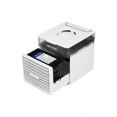 Mini Racitor aer portabil Nexfan Air Cooler UV cu functii racire, umidificare si purificare aer