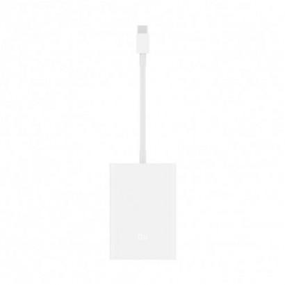 Cablu adaptor multiport USB Type-C pentru VGA si Ethernet