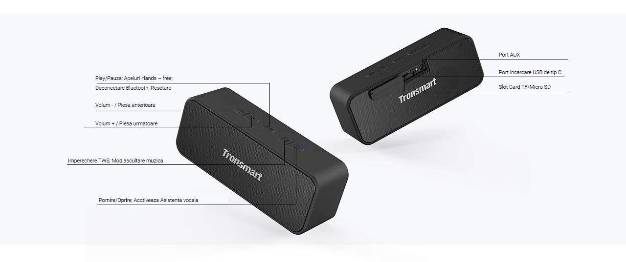 boxa-portabila-tronsmart-element-t2-plus