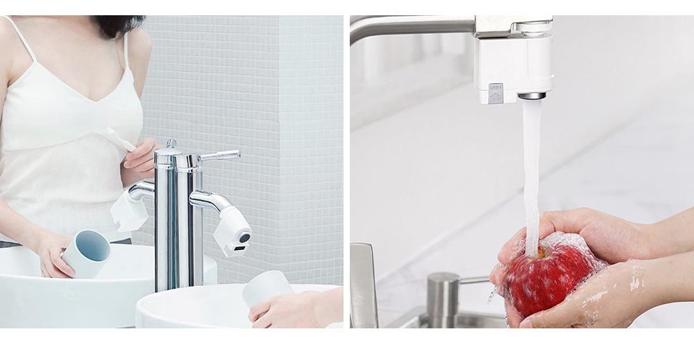 Economizor apa temporizat pentru robinet Xiaomi WE0122, Senzori Smart, IPx6