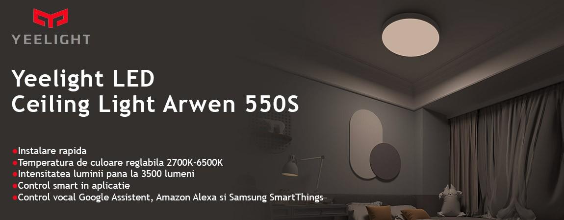 Plafoniera Yeelight LED Ceiling Light Arwen 550S,